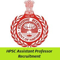 HPSC Assistant Professor Recruitment