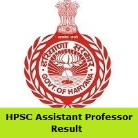 HPSC Assistant Professor Result