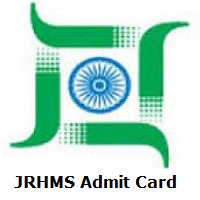 JRHMS Admit Card