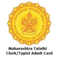 Maharashtra Talathi (Patwari), Clerk/TypistAdmit Card