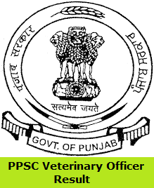 PPSC Veterinary Officer Result