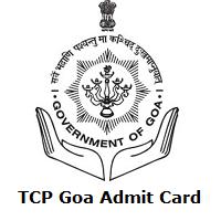 TCP Goa Admit Card