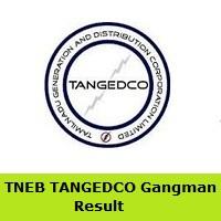 TNEB TANGEDCO Gangman Result