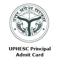 UPHESC Principal Admit Card