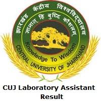 CUJ Laboratory Assistant Result