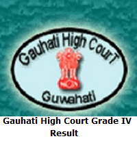 Gauhati High Court Grade IV Result