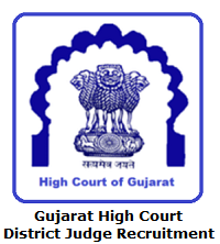 Gujarat High Court District Judge Recruitment