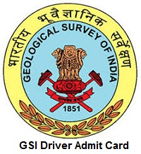 GSI Driver Admit Card