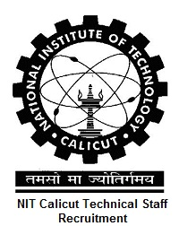 NIT Calicut Technical Staff Recruitment