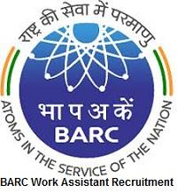 BARC Work Assistant Recruitment