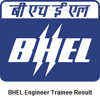 BHEL Engineer Trainee Result