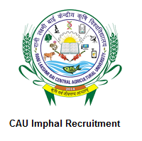 CAU Imphal Recruitment