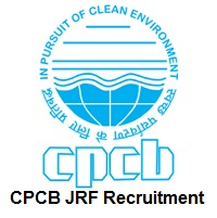 CPCB JRF Recruitment