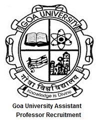 Goa University Assistant Professor Recruitment