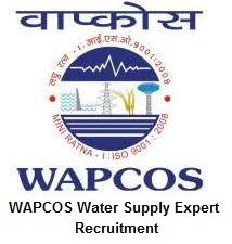 WAPCOS Water Supply Expert Recruitment